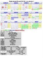 planovaci kalendar 2009 Tlač kalendárov Kalendár   Calendar.sk planovaci kalendar 2009